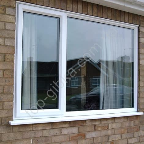 Окно металлопластиковое с отливом